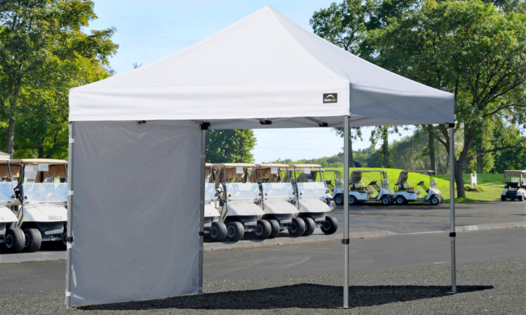 10 foot Canopy Tent - Golf Events - Corporate Events - Steadfast Rentals - Red Deer, AB
