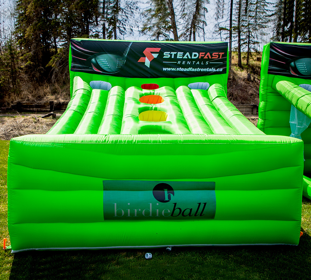 Inflatable Skee Targets - Golf Events - Corporate Events - Steadfast Rentals - Red Deer, AB